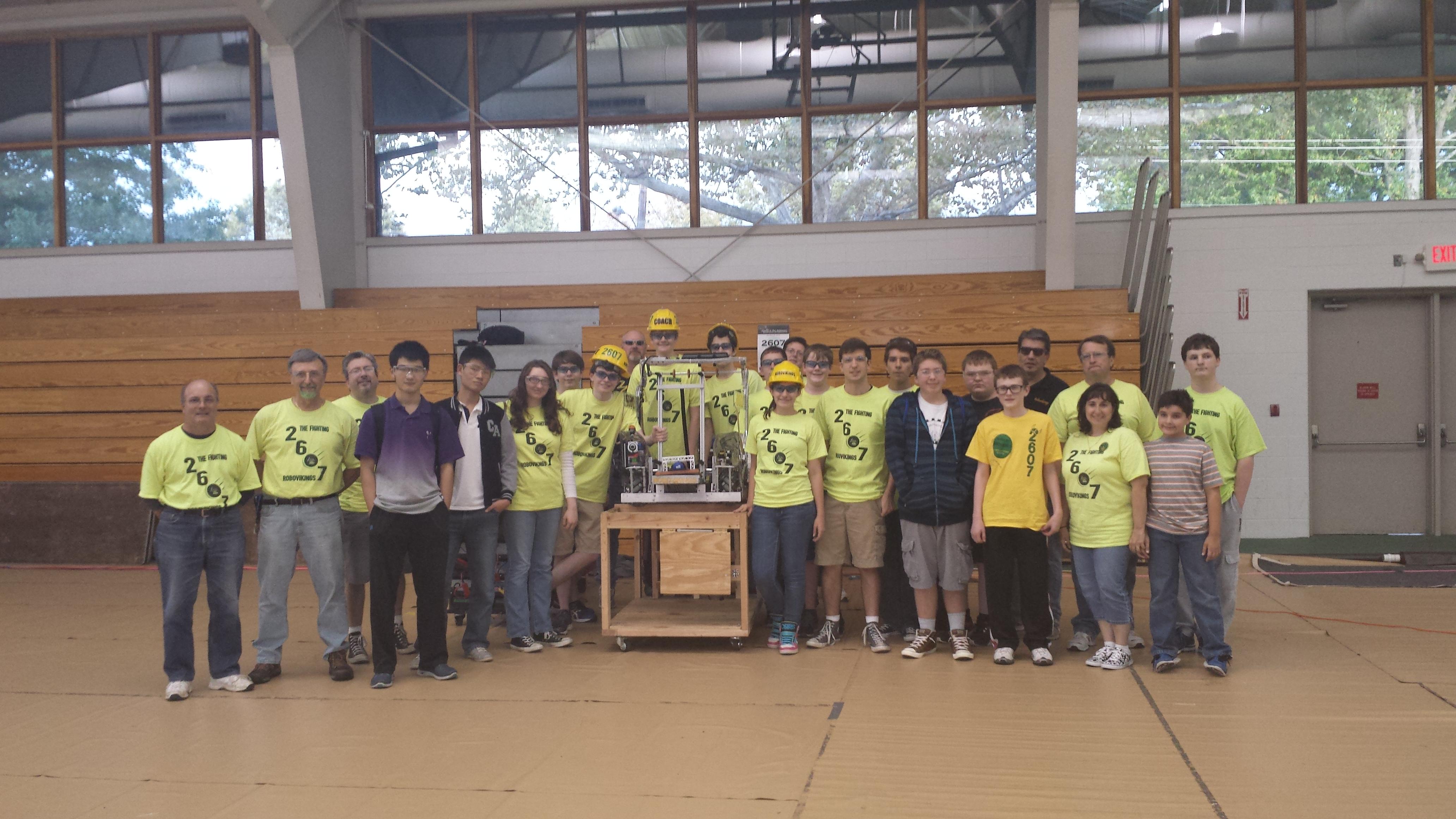 2014-2015 Team 2607