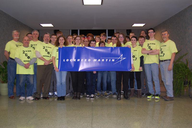 Team 2607 Sponsored by Lockheed Martin