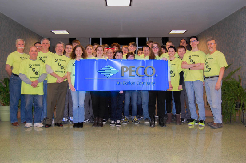 Team 2607 Sponsored by Peco