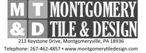 Montgomery Tile & Design Logo