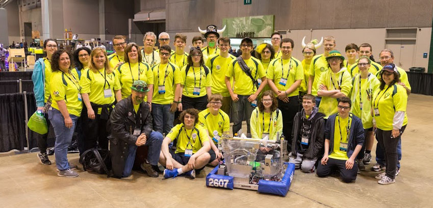 Robovikings Team Picture First Steamworks 2017